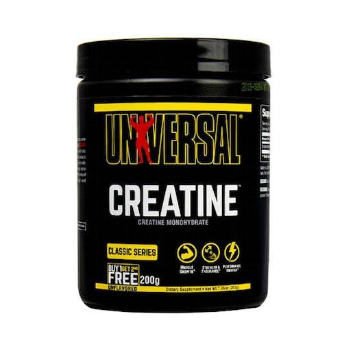 Creatina Monoidratada Universal Nutrition - 200G