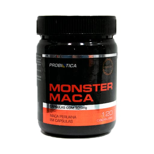 Monster MACA - 120caps - Probiótica