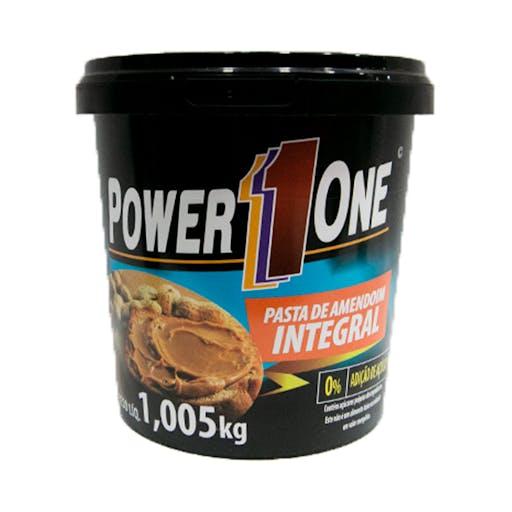 Pasta de Amendoim Integral - 1kg - Power One