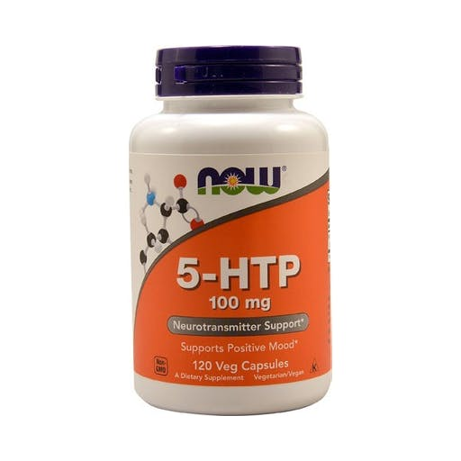5-HTP 100mg - 120 CAPSULAS Now Foods