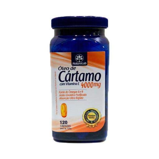 Óleo de Cartamo - 120 Cápsulas - NatureLab