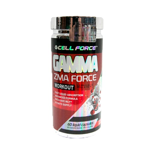 Gamma ZMA - 60 Cápsulas - Cell Force