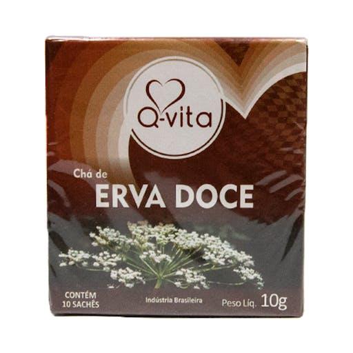 Chá de Erva-doce - 10g - Qvita