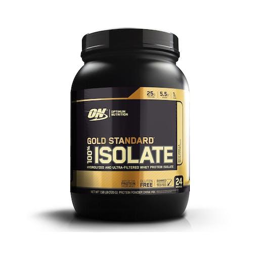 WHEY 100% ISOLATE GOLD STANDARD - OPTIMUM NUTRITION
