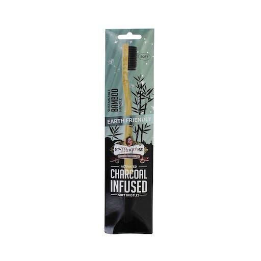 Escova de dentes de bambu,cerdas macias - My Magic Mud