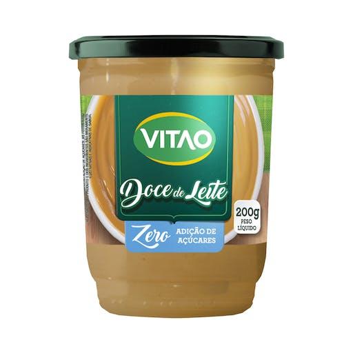 Doce de leite zero açúcares - VITAO