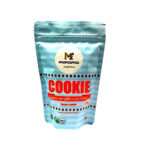 Cookies Cacau e Canela Orgânico - 90g - Monoma