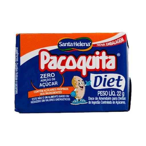 Paçoca Diet  22g - Santa Helena