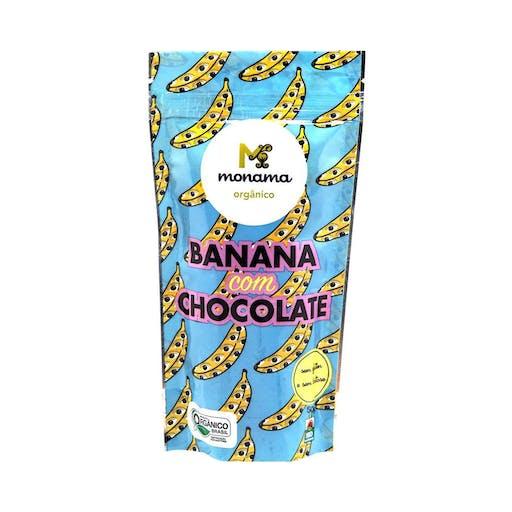 Banana com Chocolate - 50g - Monama