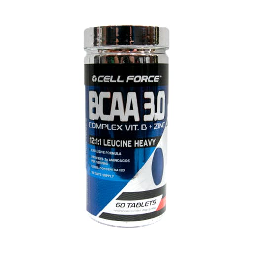 BCAA 3.0 -  60caps - Cell Force