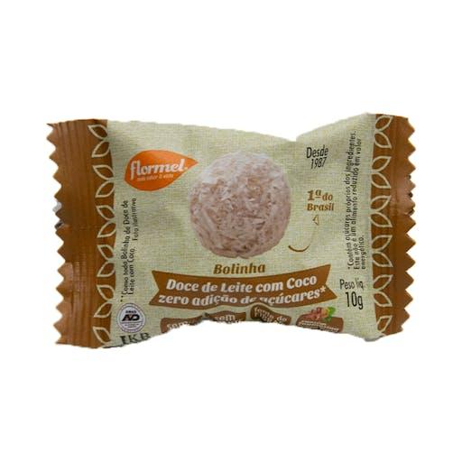 Bolinha de Doce de Leite com Coco - 10g - Flormel