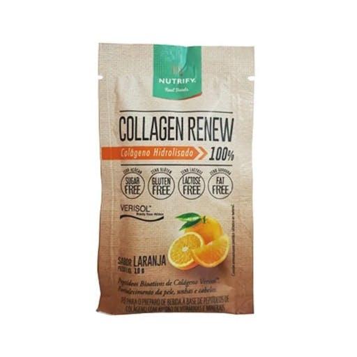 Collagen Renew Sachê - Laranja 300g - Nutrify