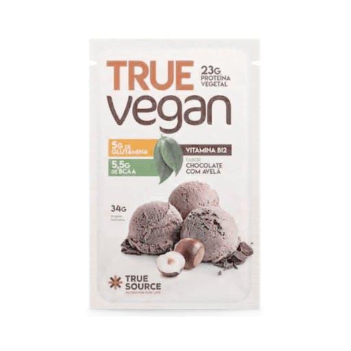 Sache True Vegan Chocolate com Avelã - True Soucer