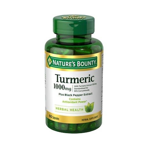CÚRCUMA TURMERIC- 1000mg - NATURE'S BOUNTY