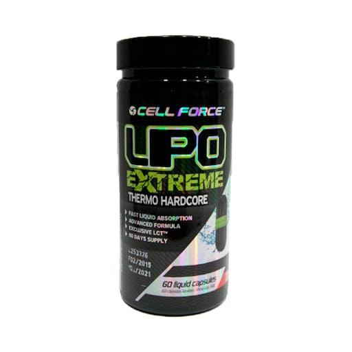 Lipo Extreme - 60 Cápsulas - Cell Force
